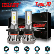 2x H7 COB LED Headlight Kit 1500W 225000LM High-Low Beam Bulb 6000K Lamp White