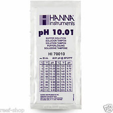 New listing Hanna Instruments pH 10.01 Calibration Solution 20 ml Sachet Free Usa Shipping