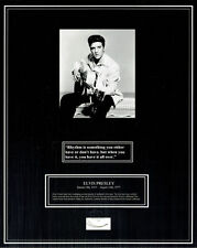 ELVIS PRESLEY / GENUINE HAIR SAMPLE & COLLECTIBLES / COA / LOA