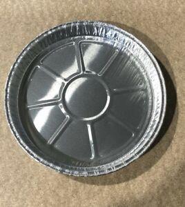 """8"""" Round Aluminium Tin Foil Dish Tart Disposable Baking Pie Quiche NO HOLES"""