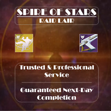 Destiny 2 Spire of Stars Raid Lair | Trusted, Fast & Professional | Best on Xbox