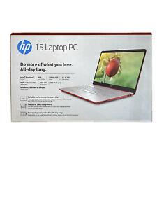 """HP Laptop 15.6""""(128 GB, Intel Pentium N-Series,1.10 GHz, 4 GB) - Scarlet..."""