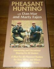 Pheasant Hunting (How-to) Dan Mar and Marty Fajen VHS Video Bird Dog + FREE DVD