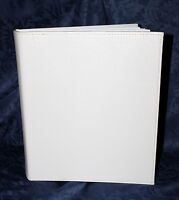Unique Large White Book-bound Traditional Wedding Album Tissue interleaved #1