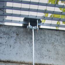 Gitterrostsicherung Einbruchssicherung für Kellerschächte mit 30 cm Stange