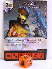 Dice Masters - 1x #019 Crystal Crystalia Amaquelin Foil - The Mighty Thor