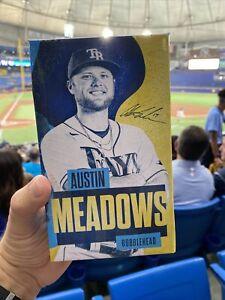 TWO! Austin Meadows Bobblehead 2021 Tampa Rays Baseball Figure NIB