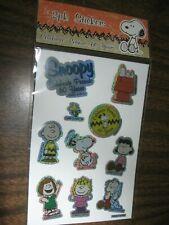 Snoopy Charlie Brown Stickers Celebrate Peanuts 60 Years NIP