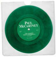 "PAUL McCARTNEY Los Angeles 11/27/89 Press Conference UK 7"" Single GREEN VINYL"