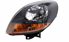 Black yellow finish Left side H4 headlight for RENAULT Kangoo I 03-08 TYC