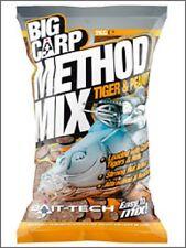2kg BAG OF BAIT TECH TIGER & PEANUT GROUNDBAIT MIX FOR CARP / COARSE FISHING