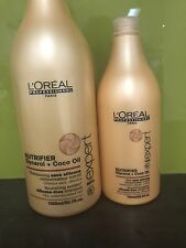 L'ORÉAL PROFESSIONAL NUTRIFIER COCO OIL SHAMPOO 1500ML+ CONDITIONER 750ML NEW