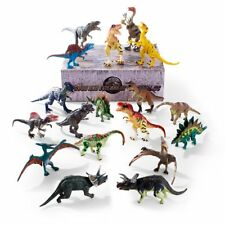 Dinosaur Toys 6 to 9 inch, 18Pcs Jumbo Dinosaurs Action Figures with Movable