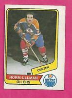 RARE 1976-77 OPC WHA # 126 OILERS NORM ULLMAN  NRMT CARD (INV# C1235)