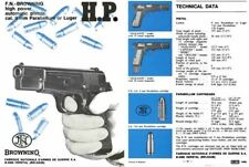 FN Browning c1970 High Power Pistols Catalog