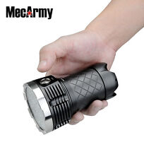PT60 4 X 18650 9600 Lumen CREE XP-G2 S4 LED Flashlight, MecArmy