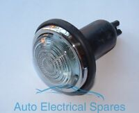 Lucas type L488 side or indicator lamp / light CLEAR GLASS COMPLETE
