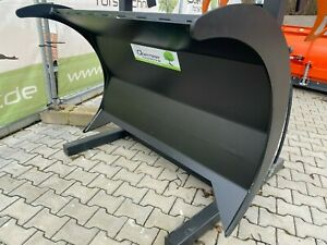140cm Polterschild Rückeschild Euroaufnahme Frontlader Traktor NEU Schaufel TOP