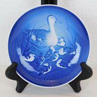 Mothers Day Mors Dag 1973 Blue Duck Plate B&G Bing Grondahl Denmark Dish Ceramic