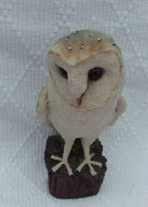 Vintage Arden Sculptures - Barn Owl Figure on a Post by Christopher Holt