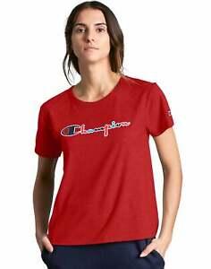 Champion Life Tee Short Sleeve T-Shirt Women Original 3Color Vintage Script Logo