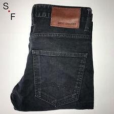 Véritable homme gris HUGO BOSS Orange Regular Slim Fit Jeans 32/32 slimfittings