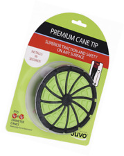 "Juvo Products Premium Cane Tip with Extra Wide Base, Fits 3/4"" or 7/8"" Diameter"
