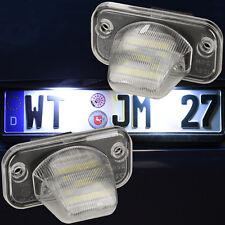 SET Kennzeichen Beleuchtung LED SMD Kennzeichen Leuchten Nummernschild 7418