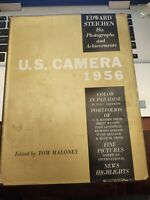 U.S. CAMERA 1956 Edited by Tom Maloney - 1st Edition 1st Printing w/DJ VERY GOOD