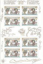 CHECOSLOVAQUIA EUROPA cept 1992 ** MNH Sheets Descubrimiento  America Columbus