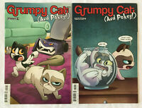 Grumpy Cat Comics #4 Cover B and #5 Cover A Dynamite 2016 1st Print
