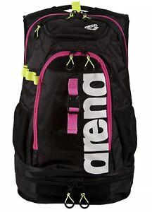 NEW - Arena Fastpack 2.1 Swim Bag Backpack - Fuchsia/Black