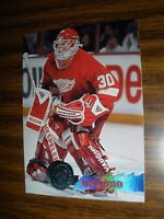 1995-96 Topps Stadium Club #135 Chris Osgood Detroit Red Wings NrMT