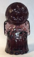 Mosser Art Glass Amethyst Singing Angel  Discontinued Item