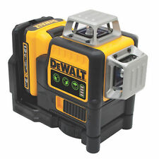 Dewalt DW089LG 12-Volt 3 x 360-Degree Lithium-Ion Green Beam Line Laser NEW