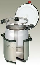 New! THERMOS Vacuum Thermal Insulation Cooker 4.5L KBA-4501 SBK Stainless Black