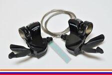 SHIMANO SL-R441/SL-R440 Road Triple 9-speed Trigger Flat Bar Shifter Lever Set