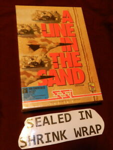 TSR A Line in the Sand IBM 5 1/4 PC Big Box Rare Game Strategy SEALED BOX 1992