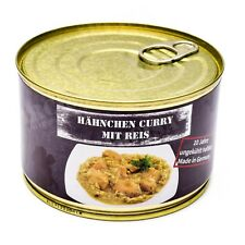 Emergency ration army survival food canned Chicken Curry with rice 400g can
