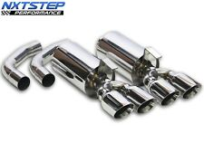 1992 - 1996 C4 Corvette Stainless Steel Axle Back Exhaust System