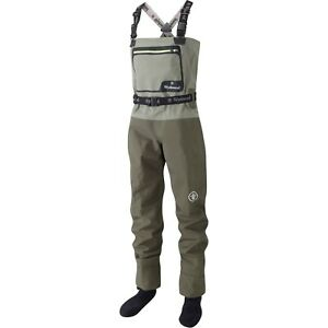 Wychwood New SDS Gorge Breathable Chest Fly Fishing Waders – All Sizes