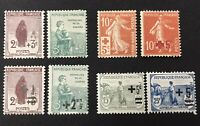 France Early 1900s Collection MH/MNH