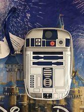 Disney Parks Star Wars R2-D2 Light-Up Tech Phone Case Wristlet Wallet New