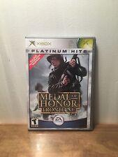 Medal of Honor: Frontline (Microsoft Xbox, 2002) Complete (CIB) Platinum Hits