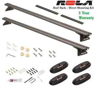 04-14 FORD F150 ROLA ROOF RACK CROSS BARS COMPLETE W/ DIRECT MOUNT KIT 165LBS