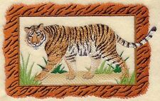 """Bengal Tiger, Wild Animal, Cat Embroidered Patch 6.8"""" x 4.3"""""""