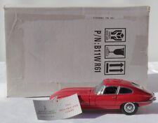 Jaguar E- Type Coupe 1961 Franklin Mint Diecast Model Car