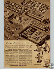 1942 PAPER AD Krazy Ikes Ike Toy Gooner Waddle Poo Floperoo Mickey Mouse Pull