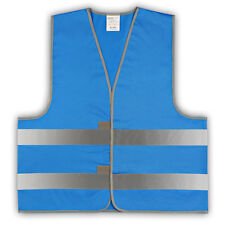 easyMesh® Signalweste Warnweste Blau Größe M/L