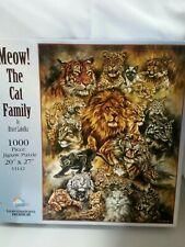 Meow! The Cat Family-Jigsaw Puzzle-SunsOut-1000 Piece-33142-Bruce Lakofka-2003